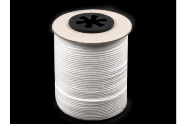 Drapery / Blinds / Jalousie Cord 1.4 mm diameter - White