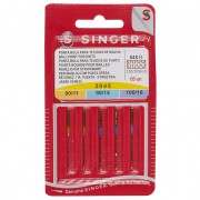 Singer - Knit Fabric Machine Sewing Needles (Ballpoint)