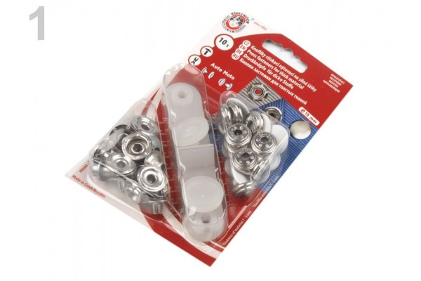 Press Fasteners - Auto Moto - Coloured