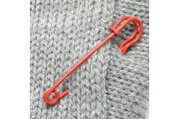 Oversized Safety Pin - Coloured - 70 mm