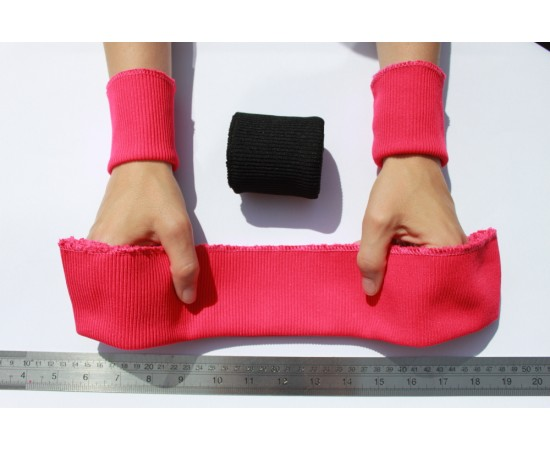 Rib Knit Cuffs & Waistband