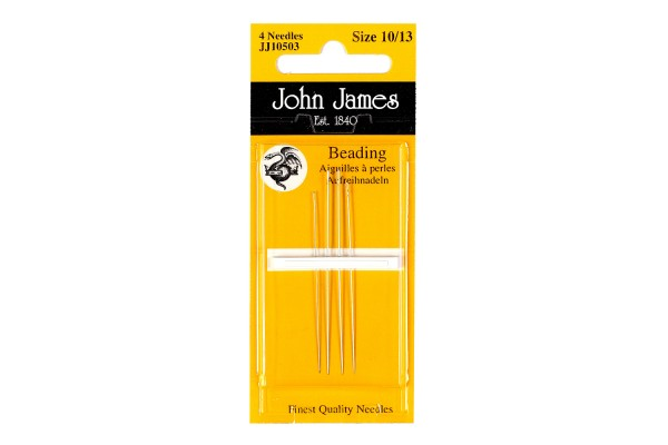 John James Needles - Beading Needles - Mixed Size Pack 10/13