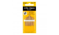 John James Needles - Quilting Needles Sizes 3/9 or 5/10 or Size 10