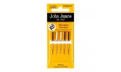John James Needles - Machine Needles - BallPoint - Various Sizes