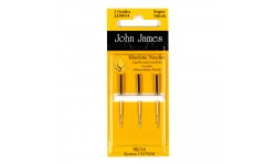 John James Needles - Machine Needles - Superstitch - For synthetic materials