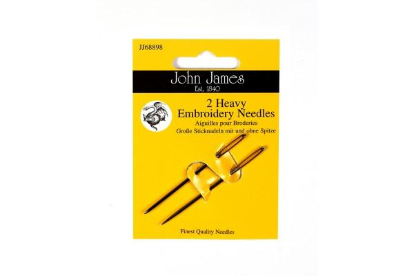 John James Needles - Heavy Embroidery Needles