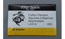John James Needles - Darners Needles - Bulk Envelope - Size 5