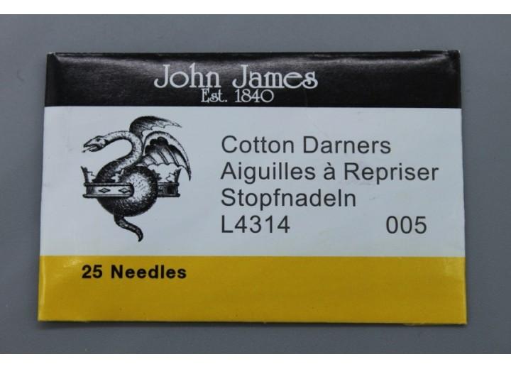 John James Needles - Darners Needles - Bulk Envelope - Size 5