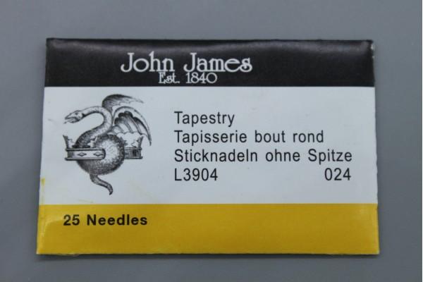 John James Needles - Tapestry Needles - Bulk Envelope - Sizes 20 or 24
