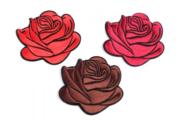 Iron-on Patch - Rose