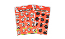 Metal Snap Fasteners - Size 8