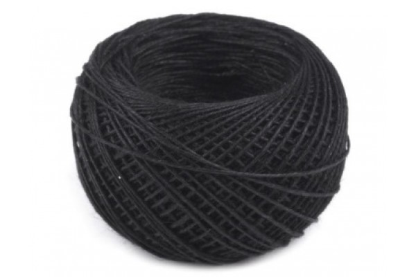 Linen Thread - TEX 42x3 - Black
