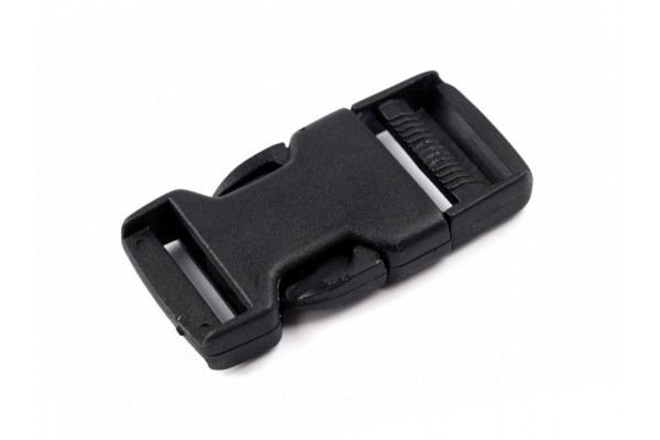 Buckle - Side Release Buckle - 25 mm, with Strap Adjuster