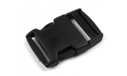 Buckle - Side Release Buckle - 30 mm, with Strap Adjuster
