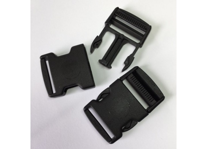 Buckle - Side Release Buckle - 40 mm, with Strap Adjuster