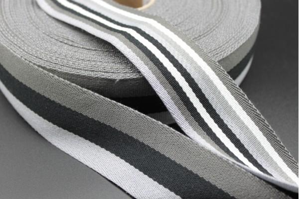 Double Sided Striped Webbing - 40mm