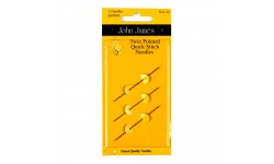 John James Needles - Twin Pointed Quick Stitch Sewing Needles