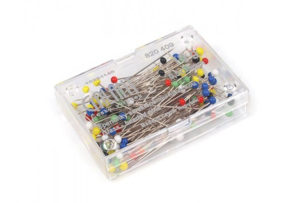 Galant Glass Head Pins - Standard Type