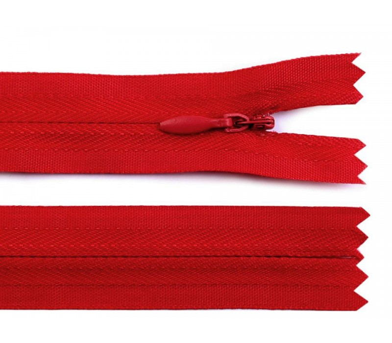 Invisible Nylon Zip - 20 cm : (Colours)