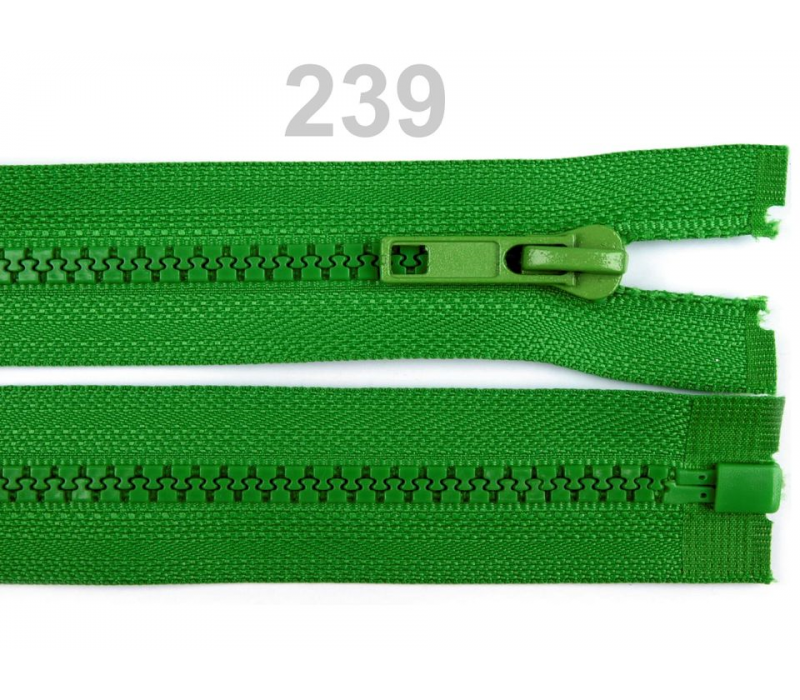 """Plastic Zip for Jackets - 65 cm (25.5"""") -  Assorted Colours"""