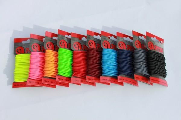 Round Coloured 'String' Elastics