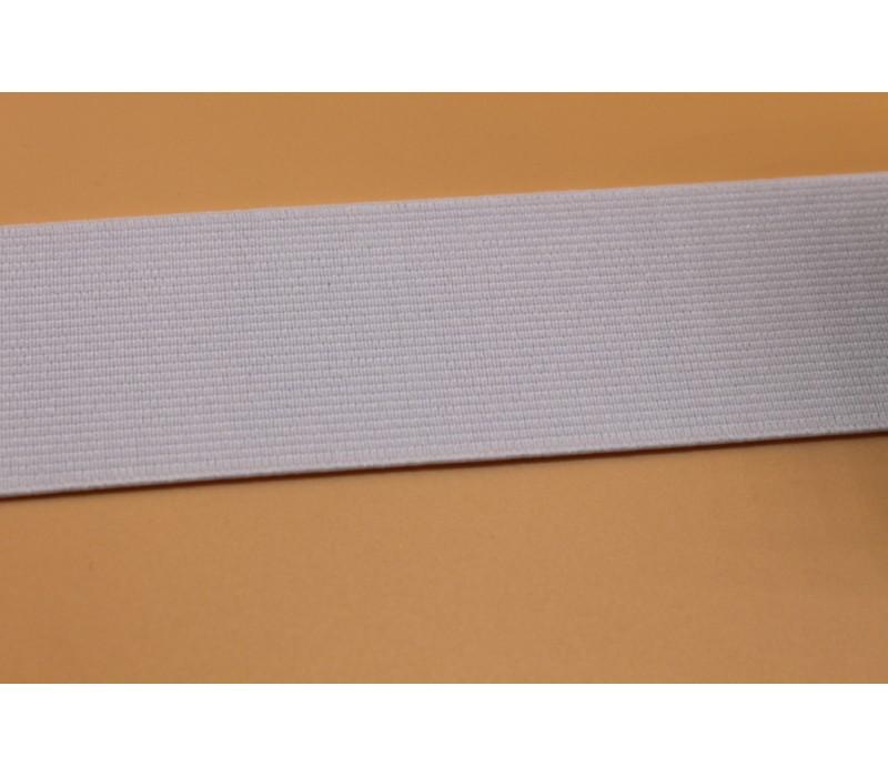 "Flat Woven Elastic - 40 mm (1.5"") - White or Black"