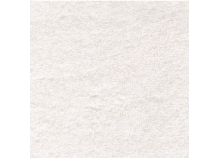 White Cotton / Polyester Terry Towelling