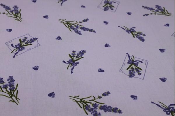 Cotton Fabric, Lavendula - Lilac