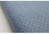 Chambray Denim - Spots - 100% Cotton