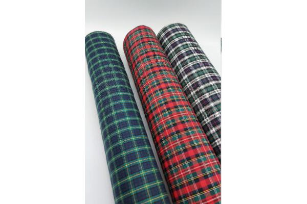 Cotton Woven Tartan - Lightweight soft fabric