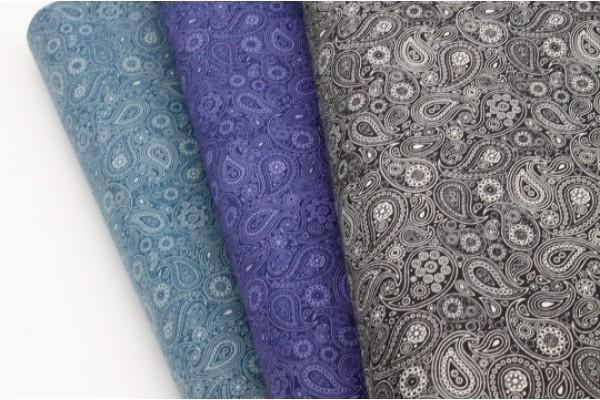 Paisley Scroll - 100% Cotton Fabric