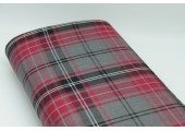Cherry Tartan Fabric