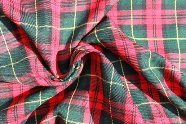 Margaret Rose Tartan Fabric