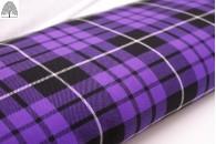 Total Purple Tartan Fabric