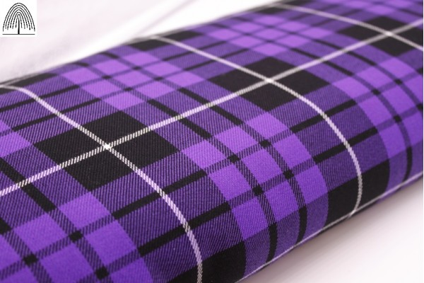 Total Purple Tartan Fabric