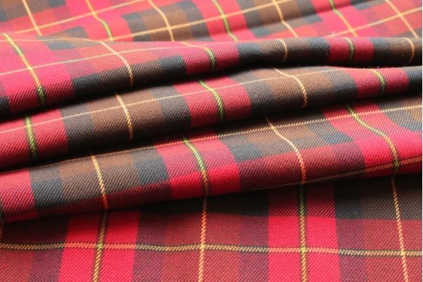 Modern Wallace Tartan Fabric