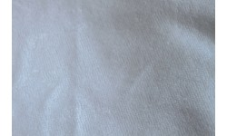 Bamboo 80% / Polyester 20% Terry Towelling - White