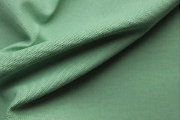 Dora Green - 100% Cotton, Self-Coloured