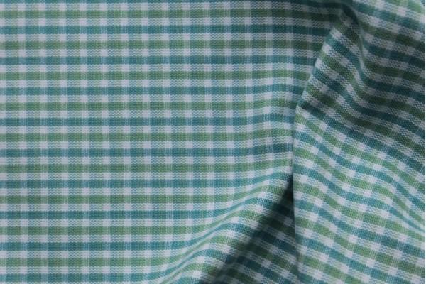 Dora Green Small Cubes 0.3 cm - 100% cotton