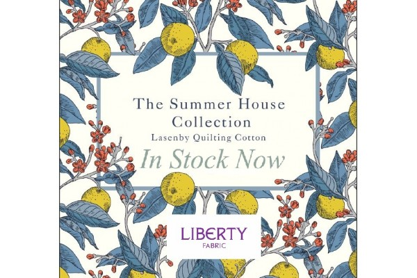 Liberty Print Cottons - The Summer House Collection - Fat Quarters (50cm x 55cm)