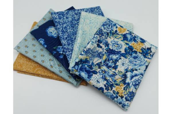 Liberty Fat Quarters - 6 x pieces, The Emporium Collection I