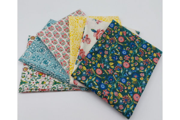 Liberty Fat Quarters - 6 x pieces, The Emporium Collection II