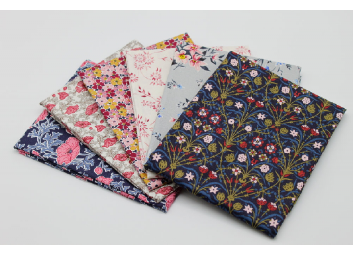Liberty Fat Quarters - 6 x pieces, The Winterbourne Collection III