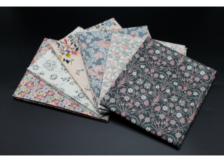 Liberty Fat Quarters - 6 x pieces, The Winterbourne Collection IV