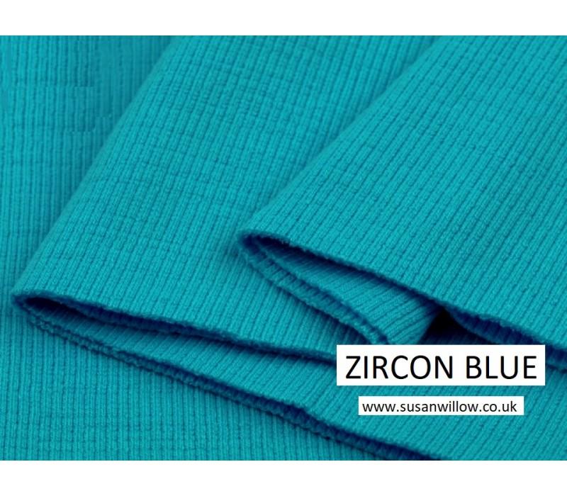 Cotton Elastic Rib Knit Fabric Tube 16 cm x 80-96 cm