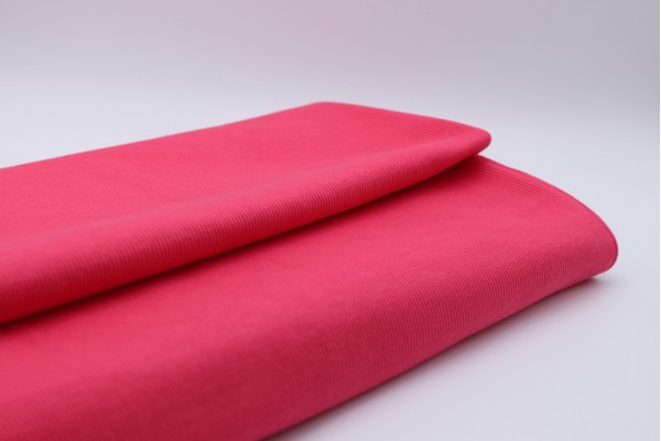 Coral Pink Rib Knit Tube - 2 x 48 cm