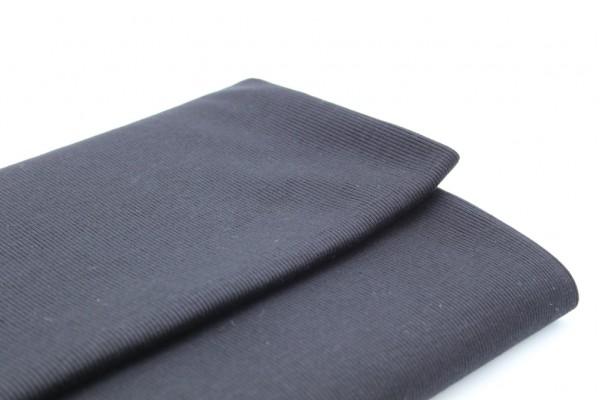 Black Rib Knit Tube - 2 x 48 cm