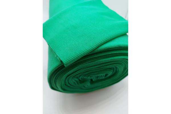 Mid Green Rib Knit Tube - 2 x 40 cm