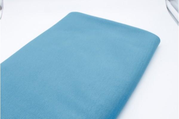 Turquoise Rib Knit Tube - 2 x 48 cm