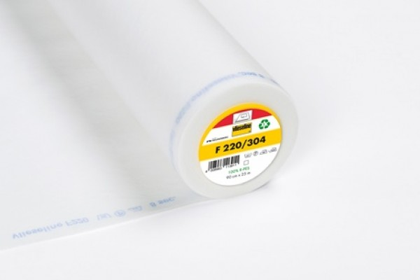 Fusible Interlining F220/304, lightweight interfacing for cottons etc.